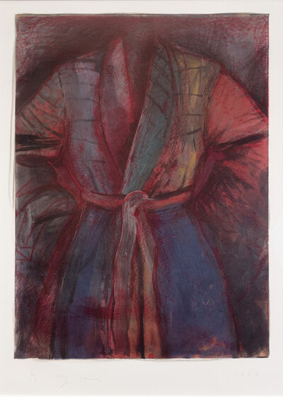 Jim Dine, 'Red Robe in France', 1985-1986