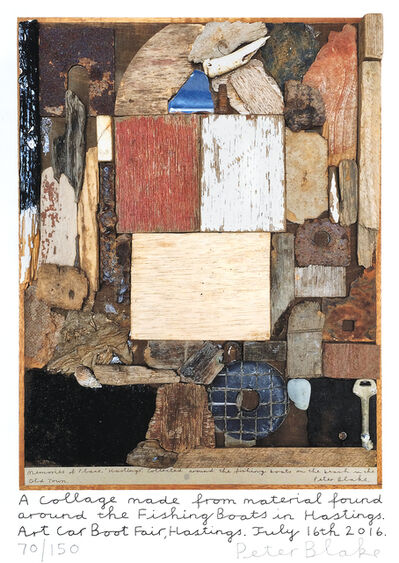 Peter Blake, 'Hastings Collage', 2016