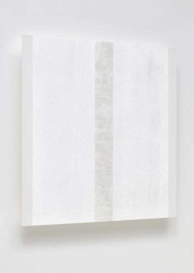 Mary Corse, ' Untitled (White Narrow Inner Band with White Sides)', 2020