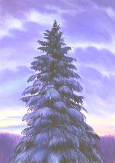 Jim Schantz, 'Winter Pine, Dusk', 2001