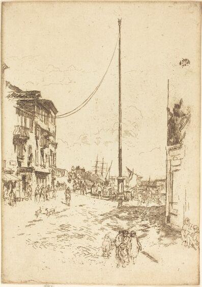 James Abbott McNeill Whistler, 'The Little Mast', 1880