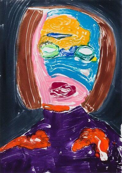 Nicola Tyson, 'Portrait Head #64', 2004