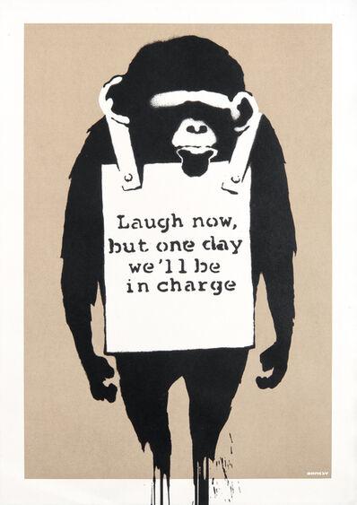 Banksy, 'Laugh Now', 2004