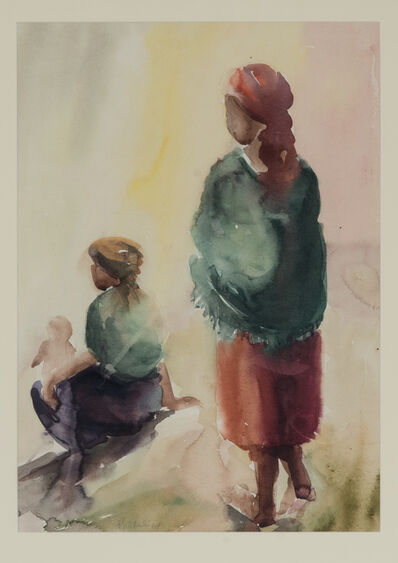 Durant Sihlali, 'Two Women', 1967