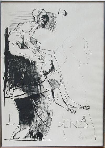 Leonard Baskin, 'Aenas', ca. 1971