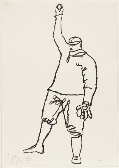 Harold Town, 'Babe Ruth', 1970