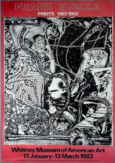 Frank Stella, 'Whitney Museum of American Art: Prints 1967-1982', 1985