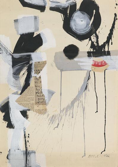 Sam Middleton, 'Cymbals', 1962