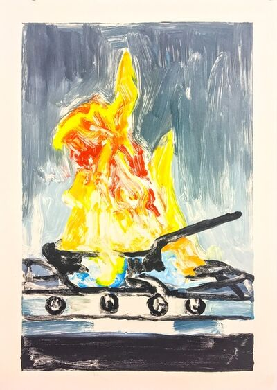 Richard Bosman, 'Stovetop Fire', 2017