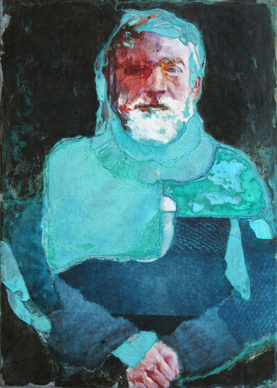Piet van den Boog, 'Shackleton as Hemingway', 2014