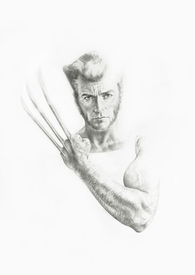 Sanjulian Jr. (Manuel Pérez), 'Clint Eastwood as Wolverine', 2016