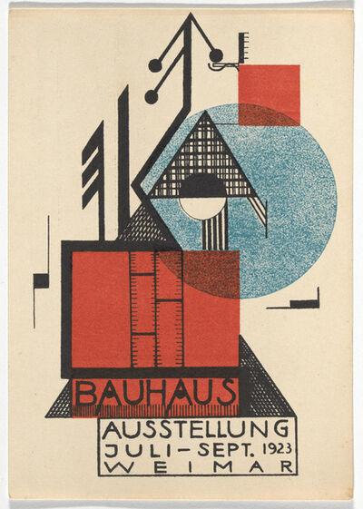 Rudolf Baschant, 'Bauhaus Postcard', 1923