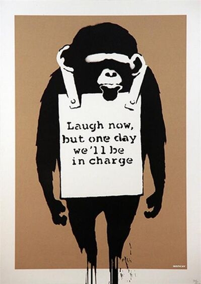 Banksy, 'Laugh Now - Unsigned ', 2004