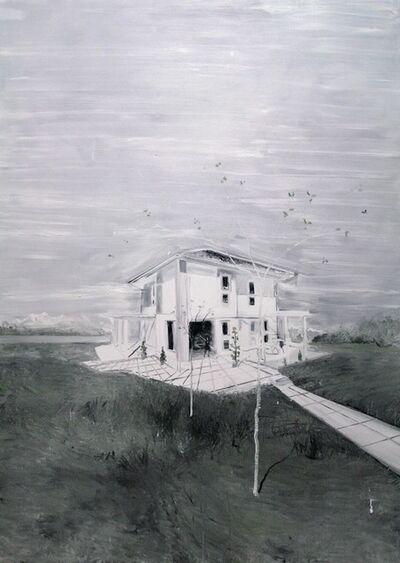Frédéric Clot, 'Villa avec deux jeunes arbres, 2013', 2013