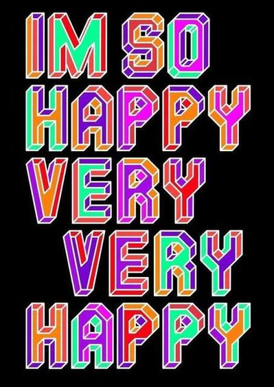 The Dotmaster, 'I AM SO HAPPY VERY VERY HAPPY', 2021