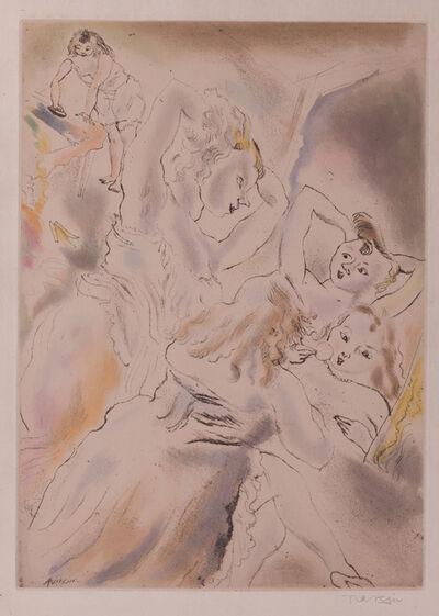 Jules Pascin, 'Cendrillon (Cinderella, the stepsisters)', 1929