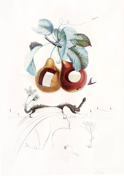 Salvador Dalí, 'Flordali - Fruits Troués', 1969