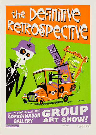 Josh Agle (Shag), 'Definitive Retrospective', 1999