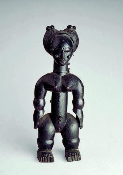 'Nkpasopi, figurine féminine (Nkpasopi,  female figure) ', c. 1900
