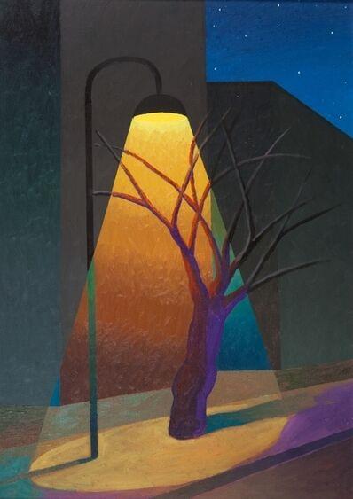 Salvo, 'Strada con lampione', 1998