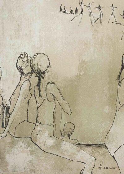 Jean Jansem, 'Ballet Dancers', 1961