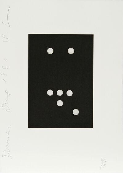 Donald Sultan, 'Dominoes Portfolio - 18', 1990