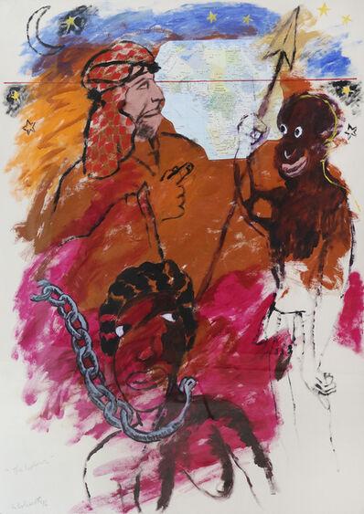 Robert Colescott, 'The Explorer', 1996