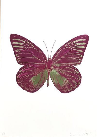 Damien Hirst, 'The Souls I, Fuchsia Pink Leaf Green', 2010