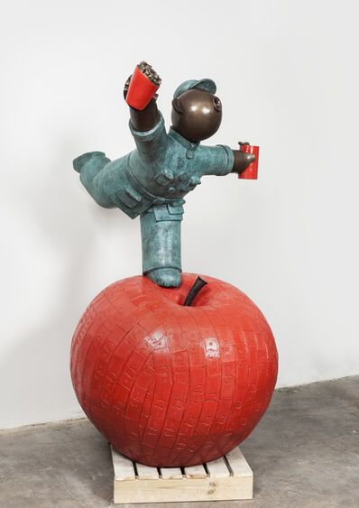 Wu Shaoxiang 吴少湘, 'Great Jump 2 (Red) ; 大跃进 2 (红)', 2013