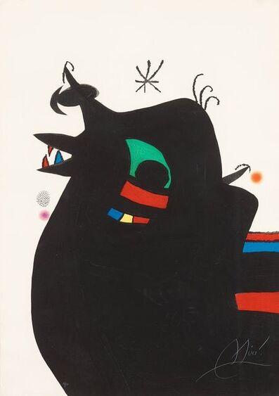 Joan Miró, 'Le Maréchal des Logis (The Sergeant)', 1978