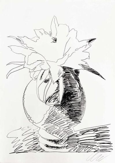 Andy Warhol, 'Flowers (Black and White)', 1974