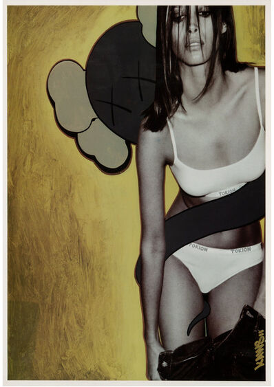 KAWS, 'Tokion poster (Guaranteed 100% authentic)', 1999