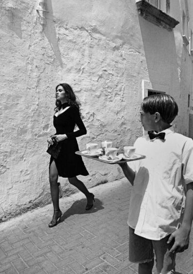 Ferdinando Scianna, 'ITALY. Benevento. Italian actress Maria-Grazia CUCINOTTA.', 1995