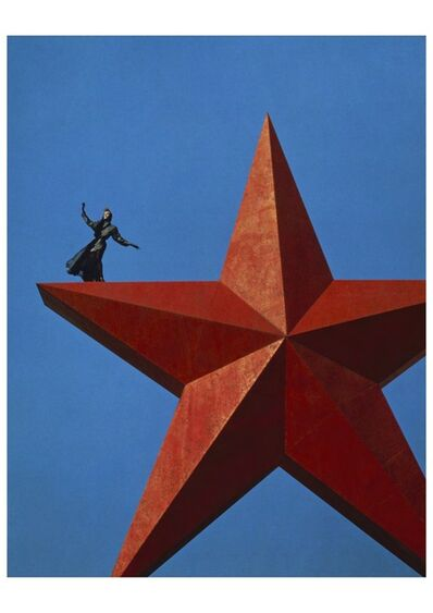 Manfred Thierry Mugler, 'Campagne de Volgograd, Russie, 1986 Angela Wilde en Azzedine Alaïa', 2019