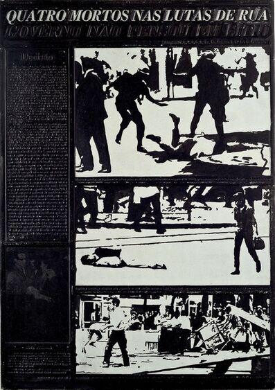 Antonio Manuel, 'Quatro Mortos Nas Lutas de Rua', 1968