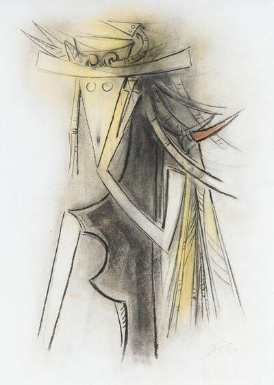 Wifredo Lam, 'Femmè avec chapeau ', 1959