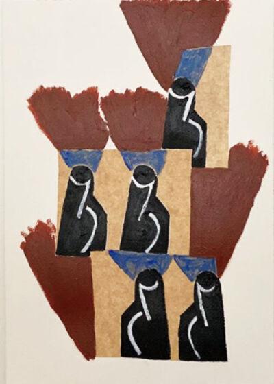 Wayne Pate, 'Assembly of Jugs Among the Palms, Granada, Spain, Late Summer', 2020