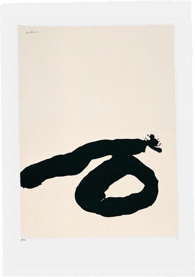 Robert Motherwell, 'Africa Suite: Africa 7', 1970