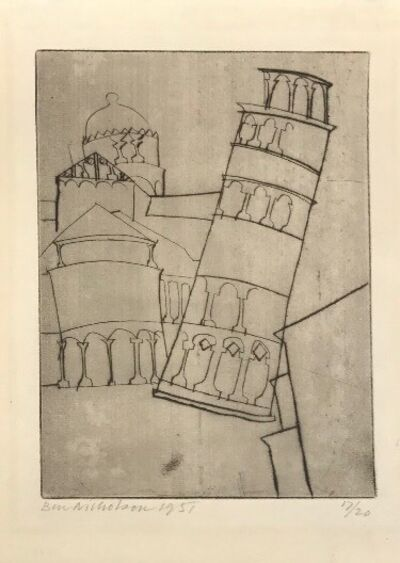 Ben Nicholson, 'Pisa', 1951