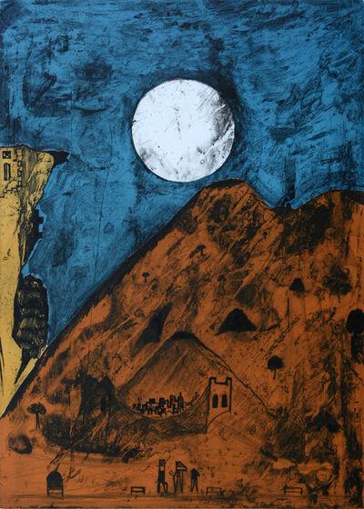 Bernardo Navarro Tomas, 'Moon of Tepoztlan', 2018