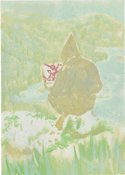 Peter Doig, 'Figure in Mountain Landscape (The Big...)', 1998