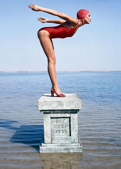 Norman Parkinson, 'Jerry Hall, Vogue Magazine, USSR', 1975