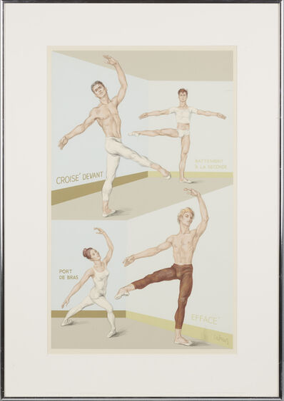 Paul Cadmus, 'Four Ballet Positions'