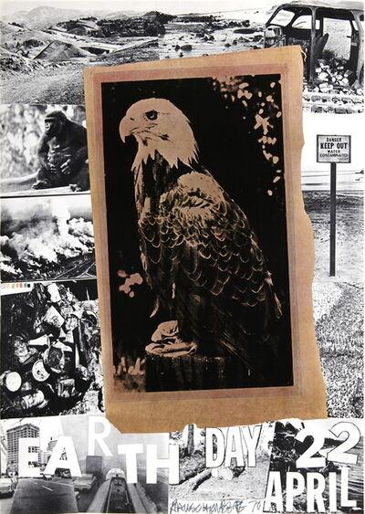 Robert Rauschenberg, 'Earth Day, American Eagle', 1970