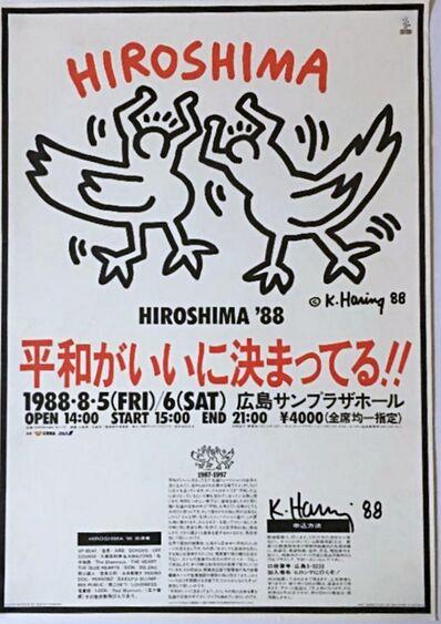 Keith Haring, 'Hiroshima Peace Celebration', 1988
