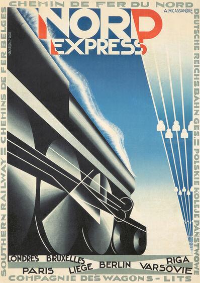 A.M. Cassandre, 'Nord Express', 1927