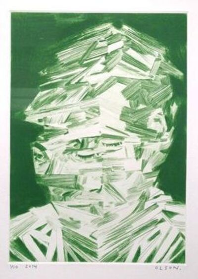 Erik Olson, 'Jeff (Green)', 2014