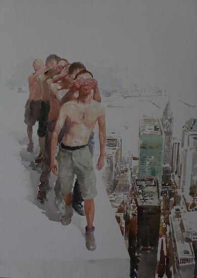 Deng Chengwen, 'Blind Walking #32', 2008