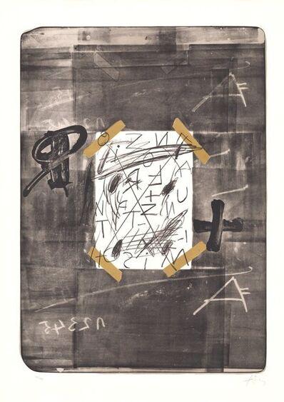 Antoni Tàpies, 'Scotch', 1970-1980