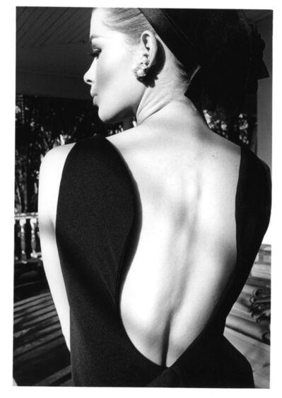 Jeanloup Sieff, 'Astrid´s Back, Palm Beach, Harper´s Bazaar', 1964